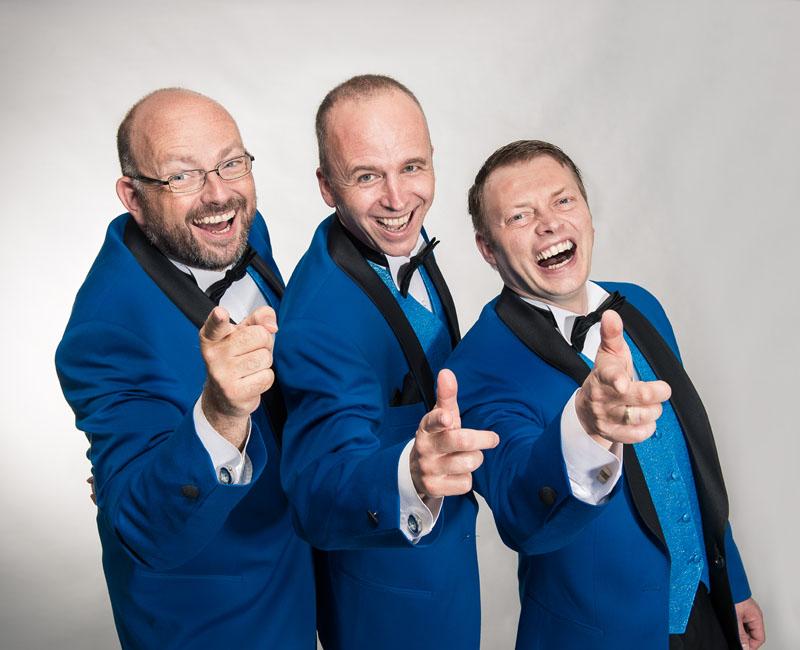 Herren Wunderlich in Blau - ©2013 by Mey