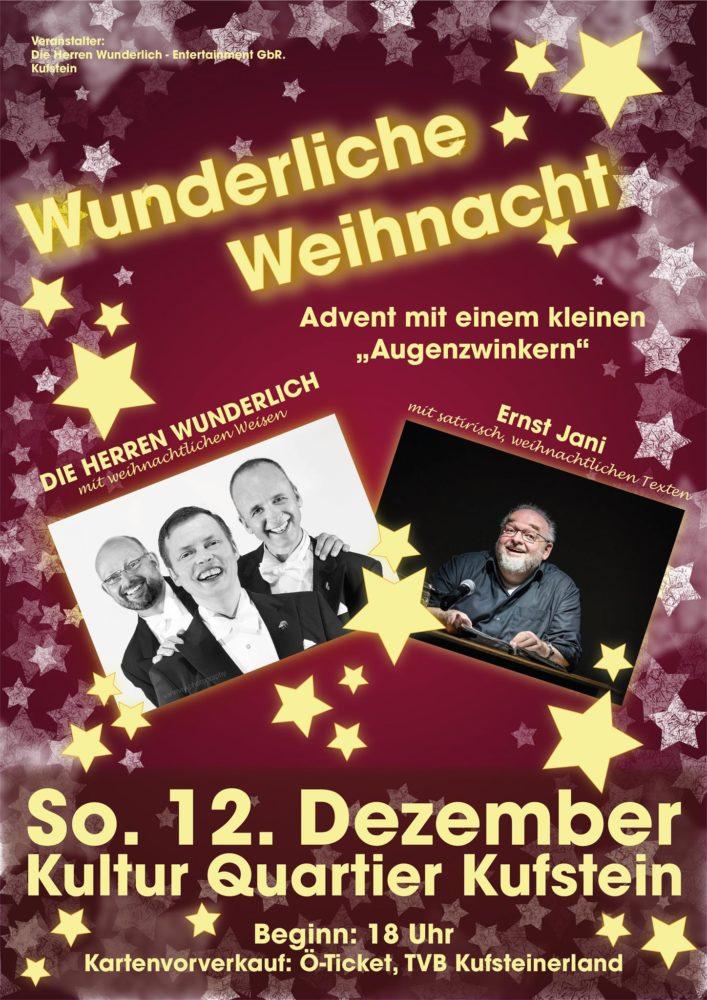 Wunderliche Weihnacht mit Ernst Jani @ Kultur Quartier Kufstein