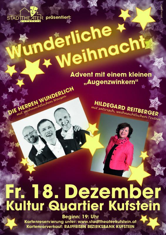 Wunderliche Weihnacht @ Kultur Quartier Kufstein